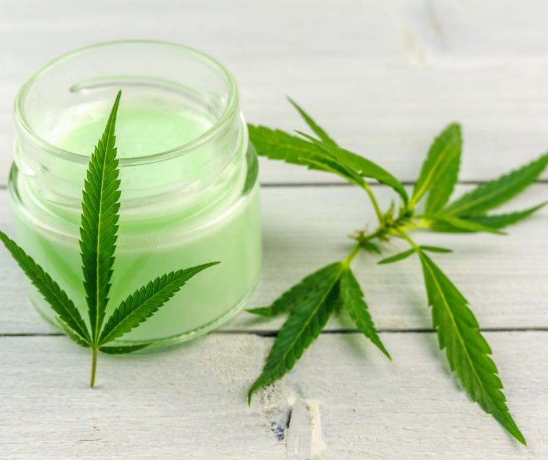 CBD creams and cosmetics